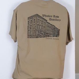 Whiskey Row Distillery T-Shirt XL Louisville KY